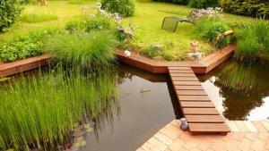 Gartenteich anlegen kosten  schwimmteich selber bauen | selbst.de. kosten und montage einer ...